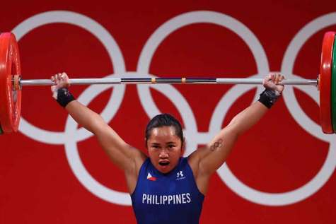 FreebieMNL - Hidilyn Diaz wins the Philippines' first ever Olympic gold medal