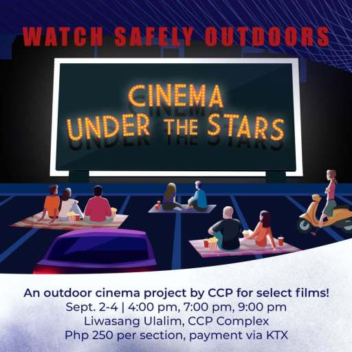 """Cinemalaya is setting up an outdoor cinema so you can watch films """"under the stars"""""""