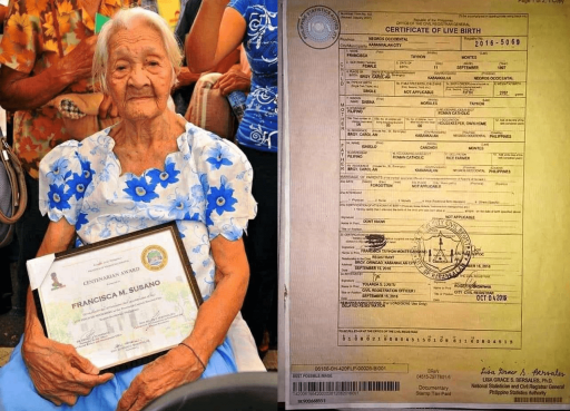 The oldest living Filipino just celebrated her 124th birthday, and she's still going strong