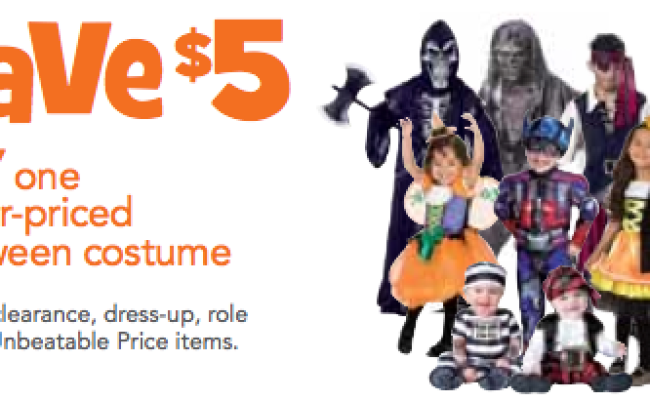 Toys R Us Save 5 00 On Any One Regular Priced Halloween