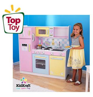 kidkraft large pastel play kitchen KidKraft Large Pastel Play Kitchen $109.00! Free In-Store