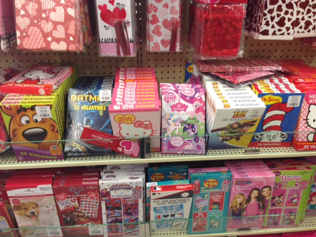 Character Valentines Only 139 Per Box Freebies2Deals