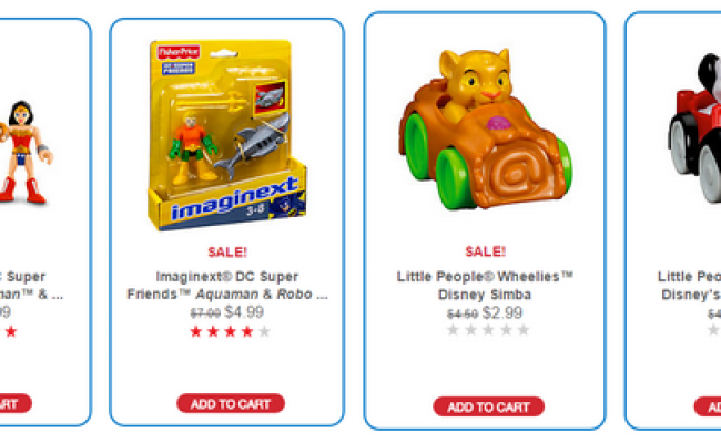 Fisher Price Clearance Toy Sale With Prices Starting At 2