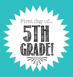 Free First Day of School Printables [ 2550 x 3300 Pixel ]