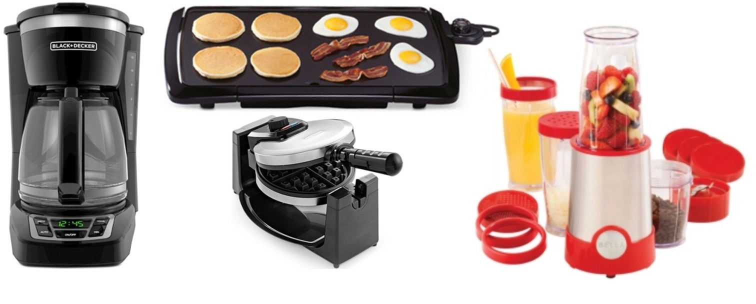 Small Kitchen Appliances From Macy's Only $9.99 After