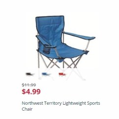 Northwest Territory Chairs Whiskey Barrel Table And Lightweight Sports Only 4 99 Kmart Has The Marked Down To Right Now There Are Lots Of Great Colors You Can Pick Them Up At