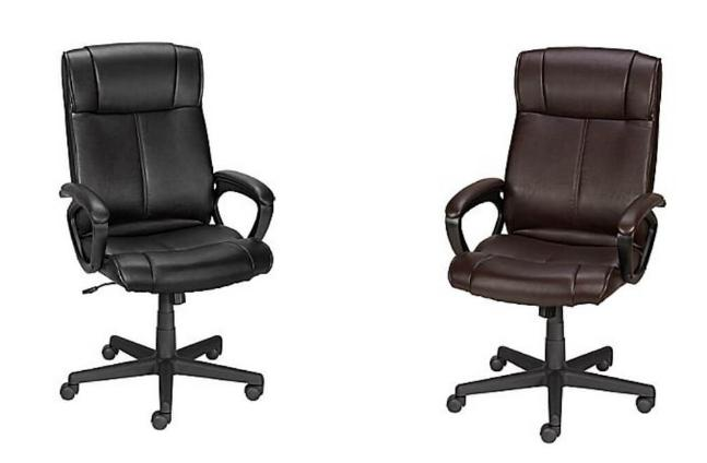 staples turcotte chair brown ikea white office luxura high back only 69 99 now s the time to grab a great deal on an head over where you can get this for