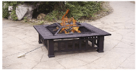 "Axxonn 32"" Alhambra Fire Pit with Cover Only $33.37! (Reg ..."