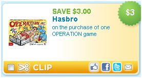 graphic about Hasbro Printable Coupon known as *Expired* Free of charge Tombstone Pizza + Hasbro $3/1 Printable