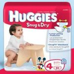 Free Sample Huggies Snug & Dry Diapers