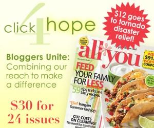 All You Magazine thru Click 4 Hope