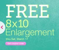 Free 8x10 Photo Walgreens