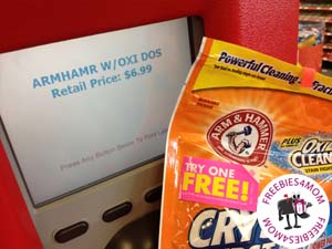 Free Arm&Hammer Laundry Power Paks After Rebate