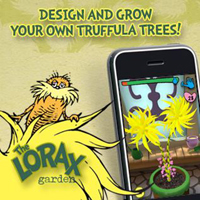 Free iTunes App Lorax Garden Screenshot