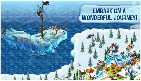 Free App: Ice Age Village