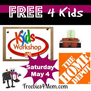 Free Home Depot Kids Workshop