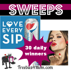 Sweeps Diet Pepsi Love Every Sip (30 Daily Winners)