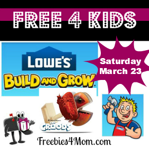 Lowe's March 23 Post