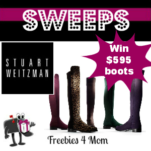 Sweeps Stuart Weitzman One Million Reasons to Celebrate (3 Daily Winners)