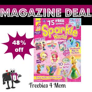 Deal $12.99 for Sparkle World Magazine