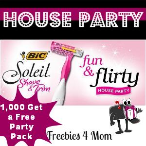 Free House Party: BIC Soleil Fun & Flirty