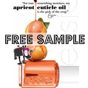 Free Sample Essie Apricot Cuticle Oil