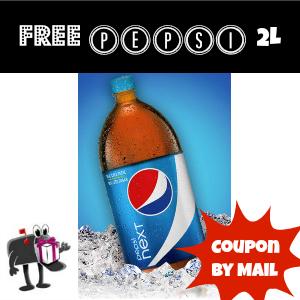 Free Pepsi Next 2 Liter