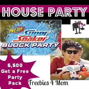 Free House Party: Nerf Super Soaker Block Party