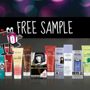 Free Sample John Frieda