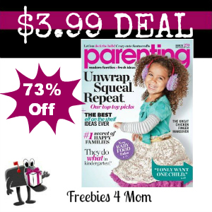 Deal $3.99 for Parenting Magazine