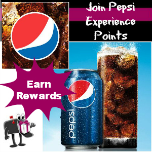 Join Pepsi Experience Points Program