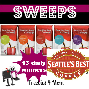 Sweeps Seattle's Best Coffee 'Take Back Your Morning' (13 Daily Winners)