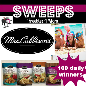 Sweeps Mrs. Cubbison's Family Vacation Giveaway (100 Daily Winners)