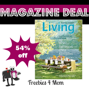 Deal $14.99 for Martha Stewart Living Magazine