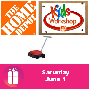Free Lawn Mower Pencil Holder at Home Depot