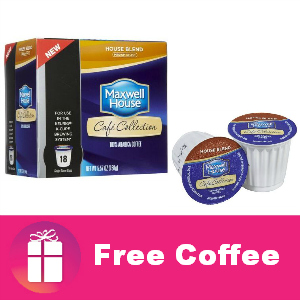 Freebie Maxwell House Cafe Collection