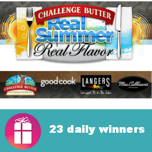 Sweeps Challenge Butter Real Summer