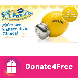 Donate4Free: Sunkist S'alternative Pledge