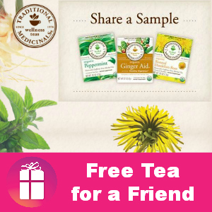 Freebie Traditional Medicinals Tea