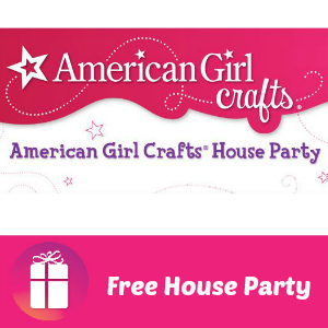 Free House Party: American Girl Crafts