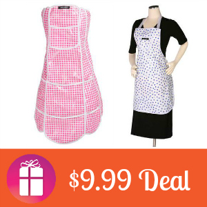$9.99 Easy-Clean Aprons (was $24.99)