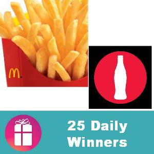 Sweeps McDonald's Arch Card IWG