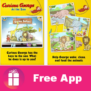 Free iTunes App: Curious George at the Zoo