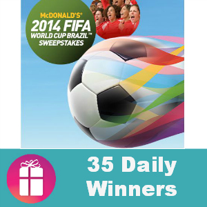 Sweeps McDonald's 2014 FIFA World Cup Brazil