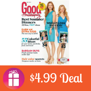 Deal $4.99 for Good Housekeeping