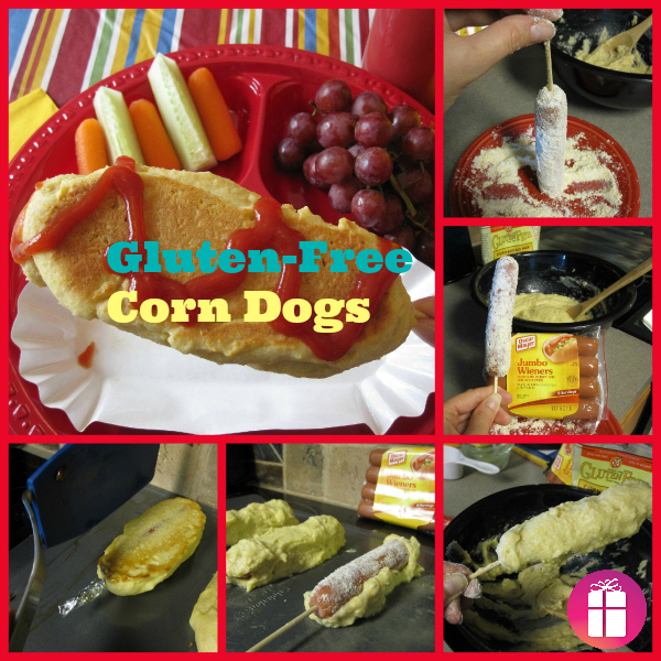 Gluten-Free Corn Dogs step-by-step