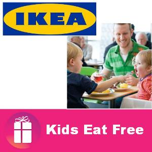 Kids Eat Free at IKEA on Tuesdays (value $2.99)