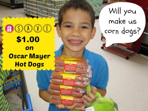 Save $1.00 on Oscar Mayer Hot Dogs