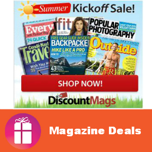 Deal Summer Magazine Kickoff Sale