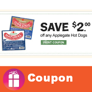 Save $2 on Applegate Hot Dogs